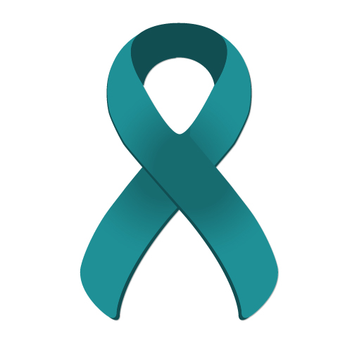 Suicide Ribbon Teal Purple